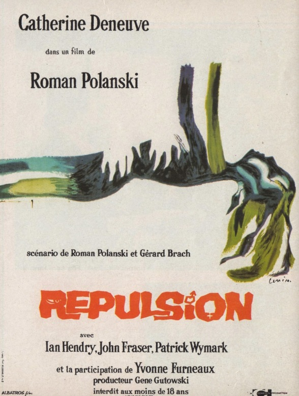 REPULSION - French Poster by Jan Lenica 1